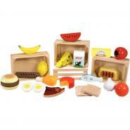 Groupes alimentaires en bois