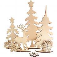 Foret de Noël à monter