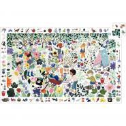 """Puzzle d""""observation de 100 pièces, Mille fleurs"""