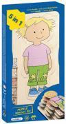 Beleduc - Puzzle en bois multi-niveaux - Le corps d'une fille