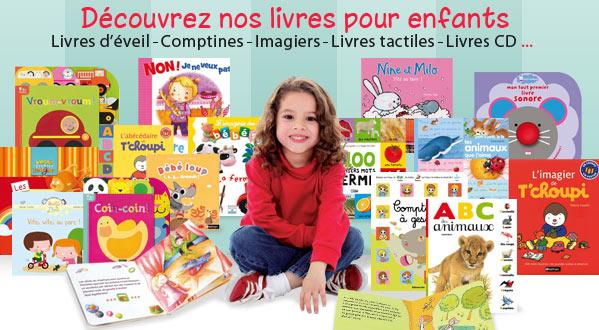 D�couvrez nos livres pour enfants