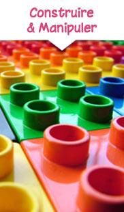 Jeux de construction et jouets à manipuler
