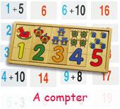 Jeux pour apprendre à compter dès 2 ans