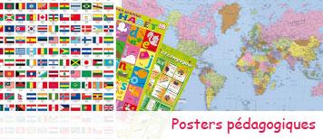 Posters pédagogiques pour enfants