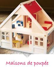 Maisons de poupées en bois