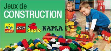 Jeux de construction pour enfants de 0 à 12 ans: Jeux de construction LEGO, DUPLO, KAPLA pas cher