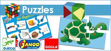 Puzzles & Encastrements pour tous les âges
