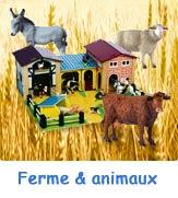 Figurines d'animaux pour enfants