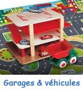 Garages, circuits et voitures pour enfants
