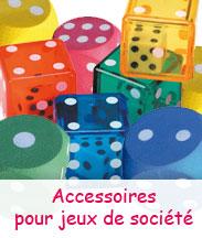 Accessoires pour jeux de société