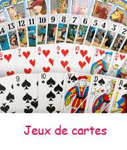 Jeux de cartes: Poker - Uno - Tarot