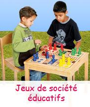 Jeux de société éducatifs à partir de 2 ans