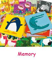 Jeux memory pour enfants à partir de 2 ans