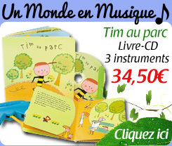 Tim au parc: Livre + CD + 3 instruments