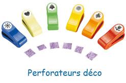 Perforateurs déco et fantaisie pour loisirs créatifs