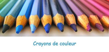 Crayons de couleur pour enfants