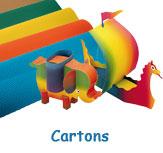 Cartons pour travaux manuels