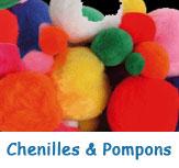 Chenilles & Pimpons pour décorations