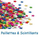 Paillettes & Scintillants pour décorations