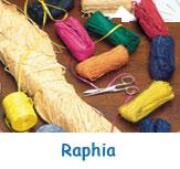 Raphia pour décoration