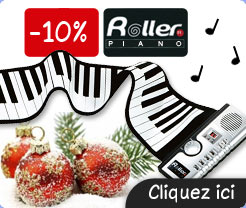 Roller Piano portable en promotion