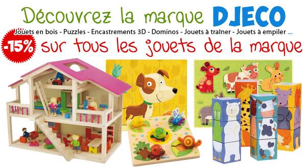 -15% sur tous les jouets DJECO