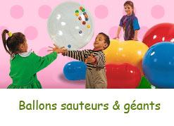 Ballons sauteurs & ballons géants