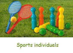 Equipements de sports insdividuels pour enfants