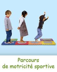 Parcours de motricité sportive pour les enfants