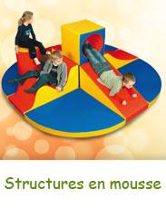Structures en mousse pour les enfants