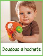 Doudous et Hochets pour les tout petits