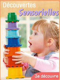 Les d�couvertes sensorielles