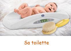 Nécessaire de toilette pour les tout petits