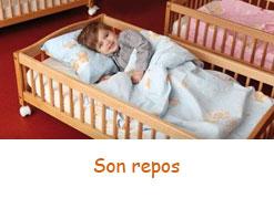 Le repos de bébé