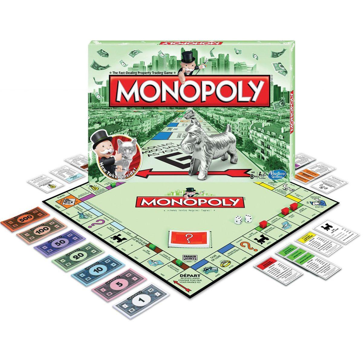 Liste de Noël: Monopoly!