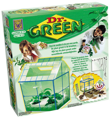 Dr Green - Serre miniature CREATIVE TOYS