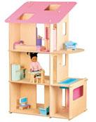 Une grande maison pour grandes poupées