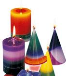 Le charme des bougies