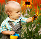 Apprentis jardiniers en herbe !