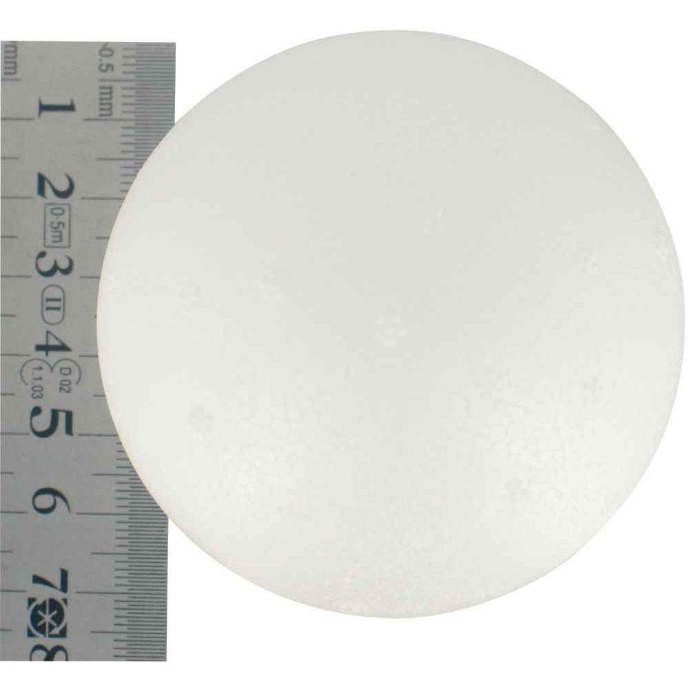 Boules  polystyrène - Diamètre 70mm - Lot de 5