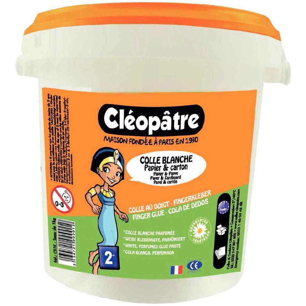 Colle blanche pâte - Seau de 1kg