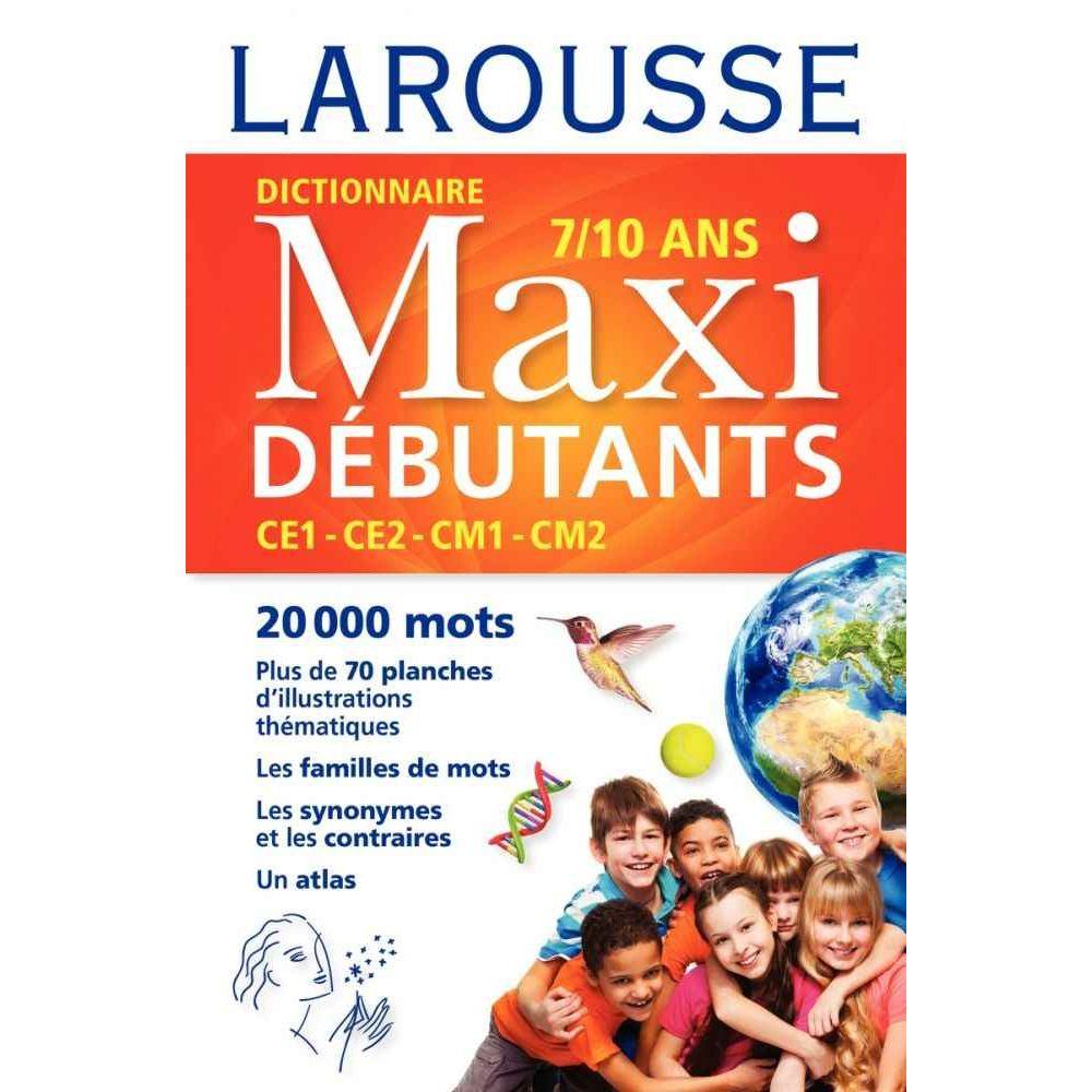 Dictionnaire 'Larousse Maxi débutants CE/CM'