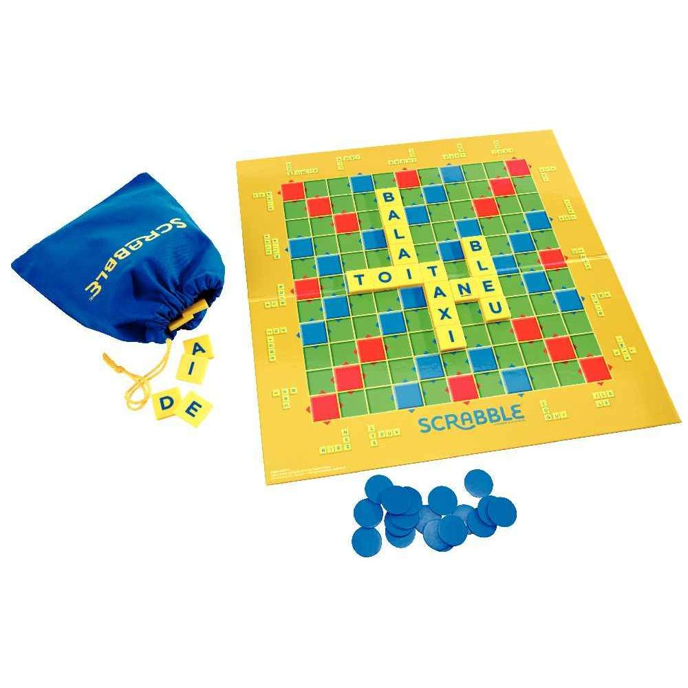jeu de soci t scrabble junior mattel jeux de soci t sur planet eveil. Black Bedroom Furniture Sets. Home Design Ideas