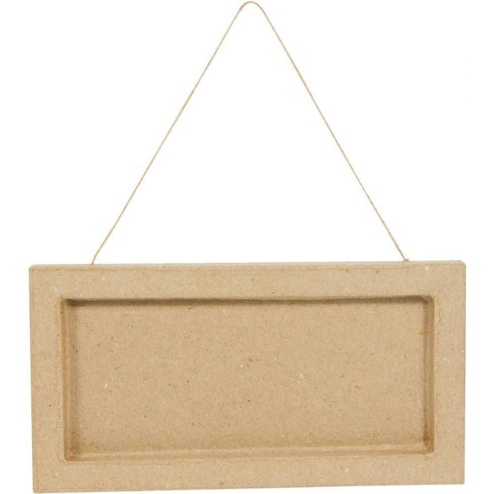 Plaque de porte en carton - Lot de 3