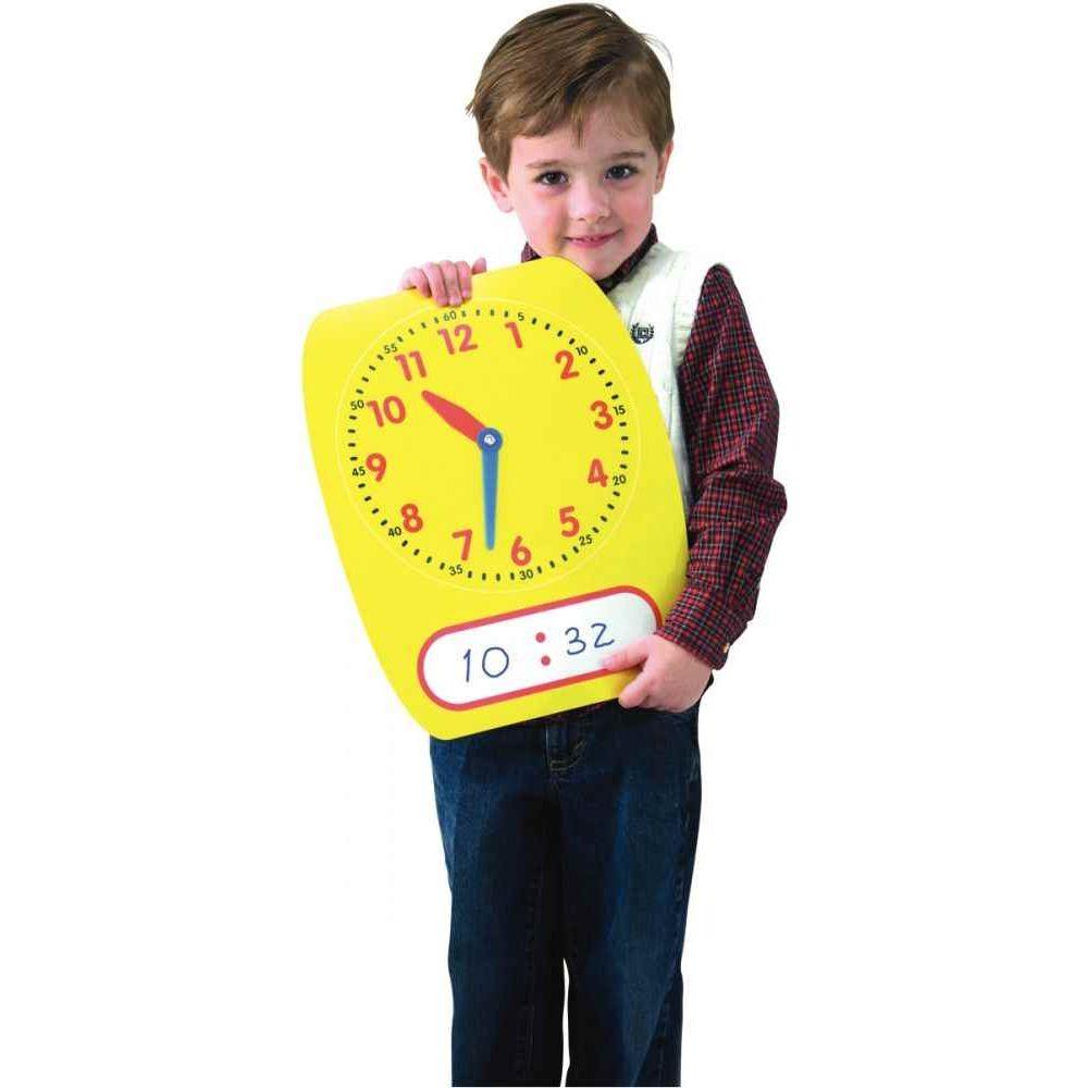 Horloge effaçable à sec 38x30cm
