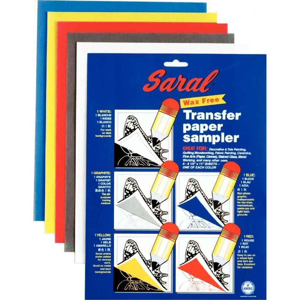 Papier décalquant format 21,5 x 27,9 cm - Sachet de 5 feuilles