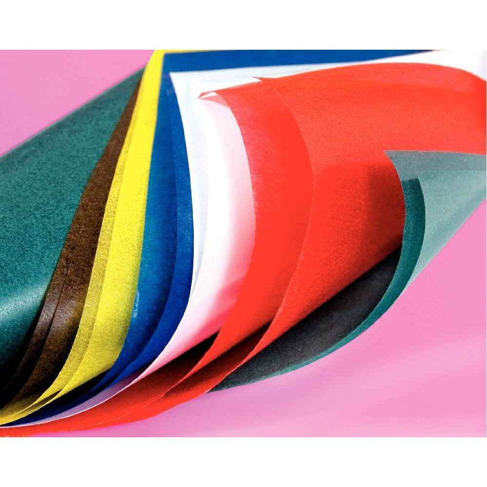Papier vitrail 32x50 cm pochette de 50 feuilles - Pochette en papier ...
