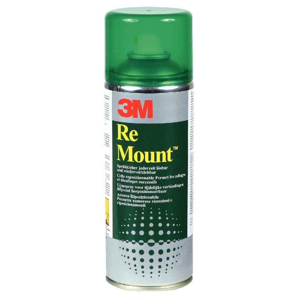 3M - Colle remount - Aérosol de 400ml