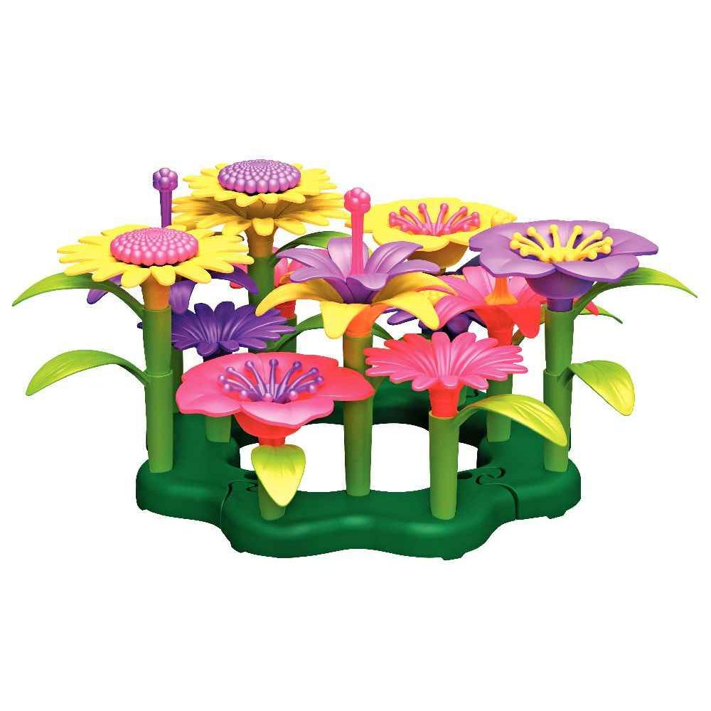 jeu de manipulation le bouquet de fleurs green toys jeux de construction sur planet eveil. Black Bedroom Furniture Sets. Home Design Ideas