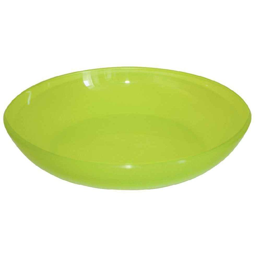 assiette creuse polypropyl ne vert plastorex vaisselle sur planet eveil. Black Bedroom Furniture Sets. Home Design Ideas
